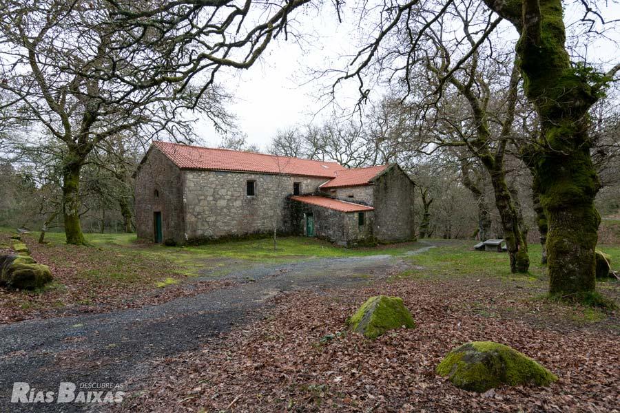 Ermita de Sán cibrán, Catoira