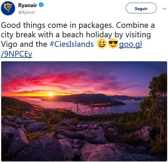 Campaña de Ryanair