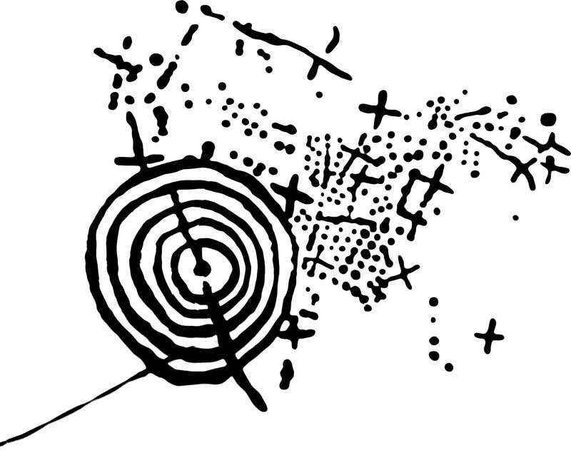 Petroglifo de Xampardiño